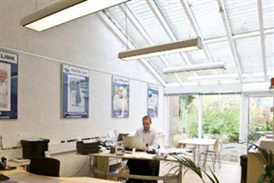 1 - 60 m2 kontorfællesskab, kontor i Rødding til leje