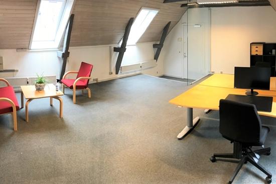 1 - 100 m2 kontorhotel i Thisted til leje