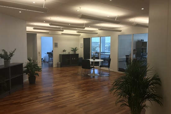 10 - 50 m2 kontorfællesskab, kontor i Middelfart til leje