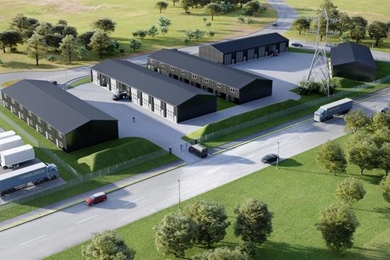 140 m2 lager i Brabrand til salg