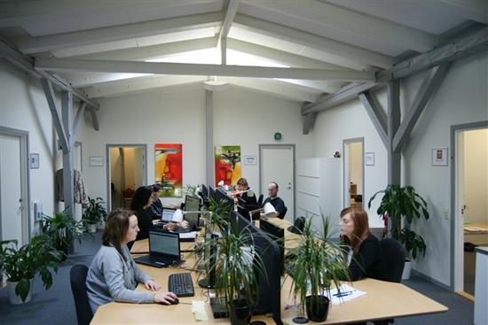 10 - 80 m2 kontorfællesskab, kontor, klinikfællesskab i Roskilde til leje