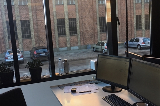 10 - 30 m2 kontorfællesskab i Aalborg til leje
