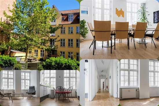 10 - 60 m2 kontorfællesskab, kontor i København K til leje