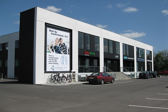 397 m2 kontor i Tilst til leje