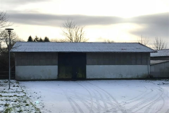 300 m2 lager, produktion i Sommersted til leje