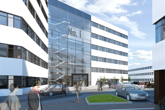 10 - 100 m2 kontorhotel i Herlev til leje