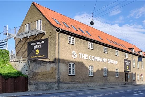 10 - 60 m2 kontorfællesskab i Århus C til leje