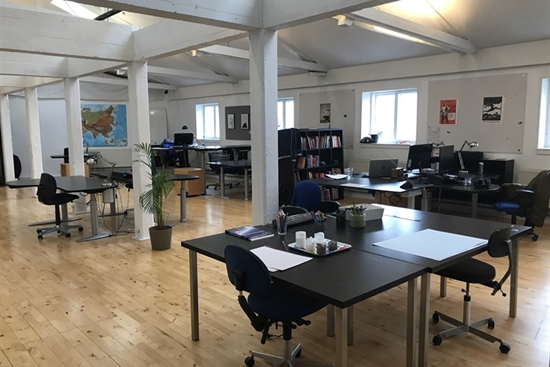 10 - 150 m2 kontorfællesskab i Frederiksberg til leje