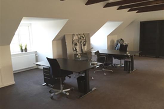 10 - 120 m2 kontorfællesskab i Nivå til leje