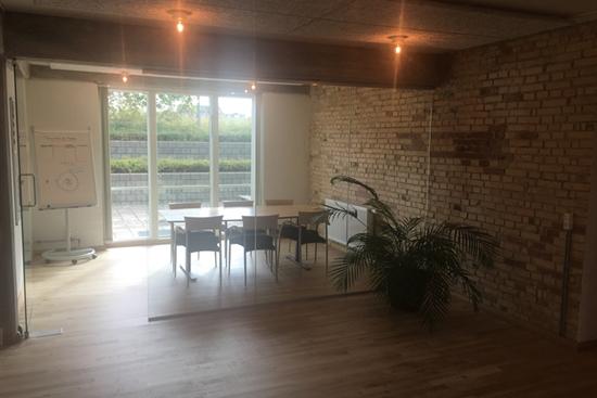 10 - 30 m2 kontorfællesskab i Odense C til leje