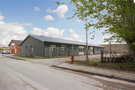 478 m2 lager, produktion, kontor i Aalborg til leje
